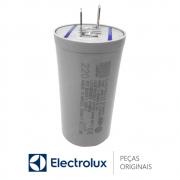 Capacitor 220V / 400VAC 12UF +-5% 50/60HZ 64188826 Lavadora Electrolux LAC11 LTD06 LTP16 TOP6 LT10B