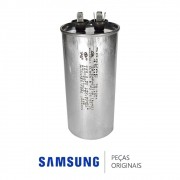 Capacitor 45UF, 500V do Compressor Ar Condicionado Samsung AQ24ESBT, AQ24UBT, AQ24UWBU, AS24ESBA