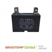 Capacitor CBB61 1,5uF 450V Condensadora 326058513 Ar Condicionado Brastemp Consul 7.000 9.000 12.000