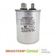 Capacitor CBB65 15uF 450VAC W10476711 para Ar Condicionado Consul CBY07BB, CBZ07BB, CBZ09DB