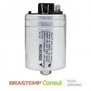 Capacitor Duplo Do Compressor CBB65 20+4uF 380VAC 326018704 Ar Condicionado Consul CCF10AB, CCI12DB