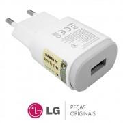 Carregador Branco MCS-04BR Celular / Smartphone LG G4 LGH815P, LG G3 LGD855P, LG G2 LGD805