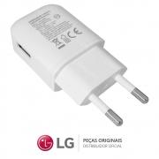Carregador LG Fast Charge MCS-H06BR 1,8A Branco Celular / Smartphone