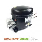 Compressor EGAS80CLP 127V 1/4 R600 W10388219 Geladeira Brastemp Consul BRE50N, BRE80A, CRD48F