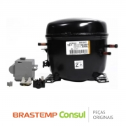 Compressor Embraco EGAS 80HLR 1/4 R134A 220V W11375485 Refrigerador Freezer Brastemp Consul