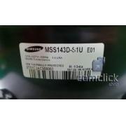 Compressor MSS143DS1U/E01 110V R134A para Refrigerador Samsung RR82WEPN1, RR82WERS1, RR82WETS1