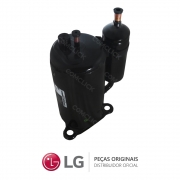 Compressor Rotativo QP348KBB R22 1PH LRA68 24.000 BTUS Ar Condicionado LG TSUC2425MA0, TSUC2425NW0