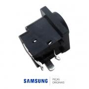 Conector do Carregador da Placa Principal para Monitor, Dock Station e Blu-Ray Samsung Diversos Modelos