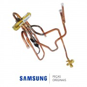 Conjunto da Válvula Reversora SHF-4-23U-SS Ar Condicionado Samsung AQ09UBT, AQ09UWBU, AQ09ESBT