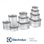Conjunto de Potes / Recipiente Hermético de Plástico (10 Unidades) 80000565 Electrolux
