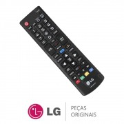 Controle Remoto AKB75055701 para TV LG Séries LN5400, LN549C, LY340C, LY340H, LY540S