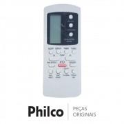 Controle Remoto Ar Condicionado Philco PH12000FM3, PH12000QFM3, PH9000FM3, PH9000QFM3