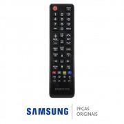 Controle Remoto BN98-06046A TV Samsung UN32J4300AGXZD UN43J5200AGXZD UN48JU6000GXZD (Seminovo)