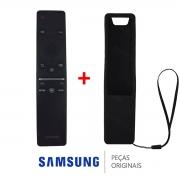 Controle Remoto + Capa de Proteção BN59-01310A TV Samsung UN43RU7100G UN49RU7100G UN58RU7100G