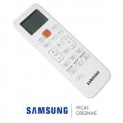 Controle Remoto DB93-13553A / DB93-09410E Ar Condicionado Samsung AQ12UWBV, AQ12UWBVN, AQV18PSBTN