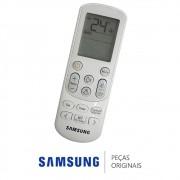 Controle Remoto DB93-16761C Ar Condicionado Samsung AR09NSPXBWK AR12NSPXBWK AR18NSPXBWK AR24NSPXBWK
