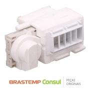 Difusor com Damper 326072397 Refrigerador Brastemp BRS70GR BRS62BB BRS62BR