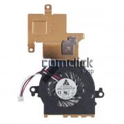 Dissipador de Calor com Cooler para Netbook Samsung NP-N150 e NP-N220