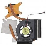 Dissipador de Calor para Placa Mãe com Cooler para Notebook Samsung NP-RF411
