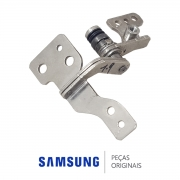 Dobradiça Esquerda do Visor / Display para Notebook Samsung NP-RV411, NP-RV415, NP-RV420