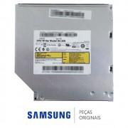 Drive Slim / Leitor de Disco CD DVD SU-208 DEGHF 0MNRC5 Notebook Samsung NP270E4E