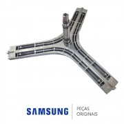Eixo do Cesto, Flange Lava e Seca Samsung WD7102RBW, WD7102RBWF, WD7122CKC, WD7122CKS, WD9102RNW