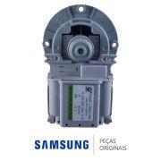 Eletrobomba / Bomba de Drenagem 220V DC31-00181B Lava e Seca Samsung WD0854W8EF1 WD106UHSAGD
