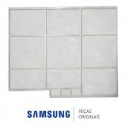 Filtro de AR Direito da Unidade Evaporadora para Ar Condicionado Samsung 18.000 BTUs