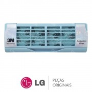 Filtro de Ar Multiproteção 3M ADQ70595910 Ar Condicionado LG ASNQ092BRG2, ASNQ122BRZ0, ASNQ182CRG2