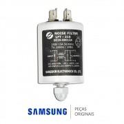 Filtro de Ruídos LFT-215, 250VAC, 15A para Lavadora e Secadora Samsung Diversos Modelos