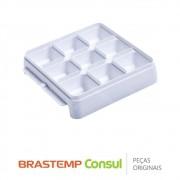 Forma de Gelo do Ice Maker W10268050 para Geladeira, Freezer e Frigobar Brastemp Consul