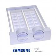 Forma de Gelo Dupla do Ice Maker para Refrigerador Samsung RZ80EERS, RZ80FEPN e RZ90EEPN