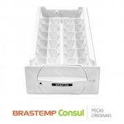 Forma de Gelo Smart Ice W10420716 Geladeira Brastemp BRE50N, BRE51N, BRK50N, BRM50N, BRW50N