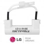 Fusível Alta Tensão 700mA/L5KV Micro-ondas LG MH6346SS, MS2346G, MS2346S, MS2346SS