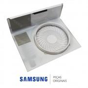 Gabinete Frontal da Unidade Condensadora para Ar Condicionado Samsung AQV09PSBT, ASV09PSBT