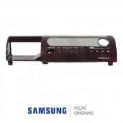 Gabinete Frontal / Painel Vinho para Lava e Seca Samsung WD6122CKC e WD6122CKCF