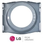 Gabinete Frontal Prata MCK38266305 Lava e Seca LG WD-1403RD5, WD-1403RDA5, WD-1409RD5