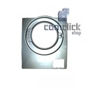 Gabinete Frontal Prata para Lava e Seca Samsung WD0854W8N1, WD0854W8NF1, WD8854RJZ1, WD8854RJZF1