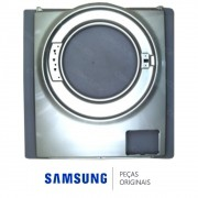 Gabinete Frontal Prata para Lava e Seca Samsung WD856UHSASD