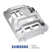 Gabinete Frontal Prata para Mini System Samsung MX-E850 e MX-E870