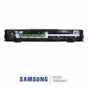 Gabinete Frontal Preto com PCI Função Touch para Home Theater Samsung HT-Z320T/XAZ