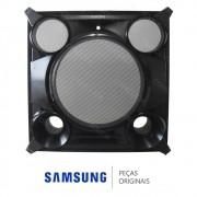 Gabinete Frontal Preto da Caixa de Som para Mini System Samsung MX-FS8000/ZD