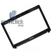 Gabinete Frontal Preto do Display para Notebook Samsung NP-RV410