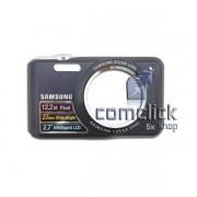 Gabinete Frontal Preto para Câmera Digital Samsung ES70