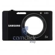 Gabinete Frontal Preto para Câmera Digital Samsung ST77