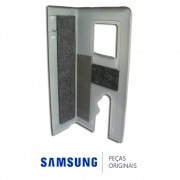 Gabinete Lateral da Unidade Externa para Ar Condicionado Samsung AQ12ESBT, AQ12UBT, AS12ESBT AS12UBT