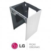 Gabinete Lateral e Traseiro Branco para Lava e Seca LG WD-C1485AD, WD1485AT, WD-C1485ADA
