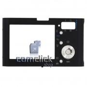 Gabinete Traseiro Preto para Câmera Digital Samsung NV3