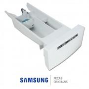 Gaveta do Dispenser Branca para Lava e Seca Samsung WD-H125NC e WD-H125NCF