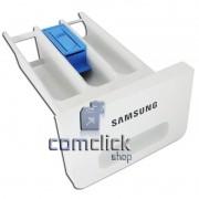Gaveta do Dispenser Completa Branca Lavadora e Lava e Seca Samsung WD8854RJF1 WD8854RJFF1 WF8854LJF1